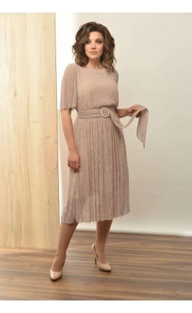 Платье Angelina 552 пудра