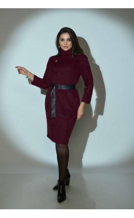 Платье Angelina 625 бордо
