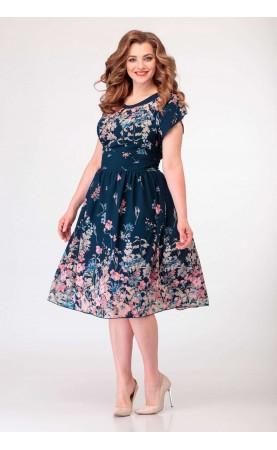 Платье Асолия 2324 летняя рапсодия