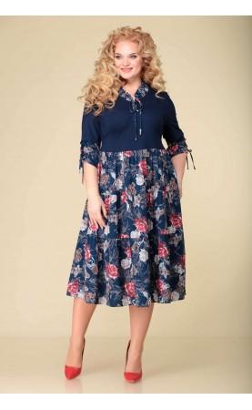 Платье Асолия 2514-1розы